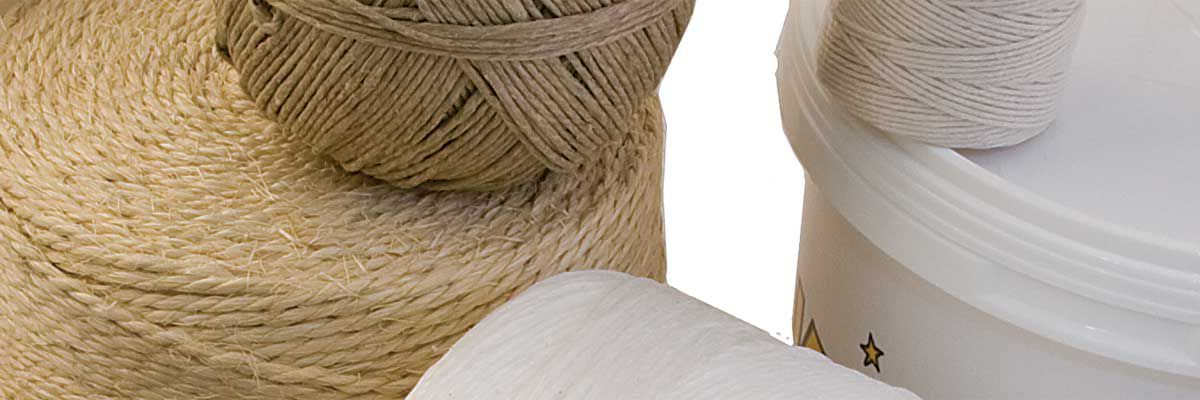 Yarn, Rope, Bucket, Knife